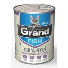 Grand deluxe 100% RYBÍ pro kočku 400g