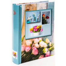 FANDY fotoalbum GEDEON B-46200S FLOWER POWER 1 MODRÉ PL