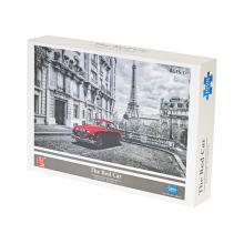 Puzzle 70x50cm Červené auto 1000 dílků