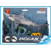Žralok 25cm pohyblivé části