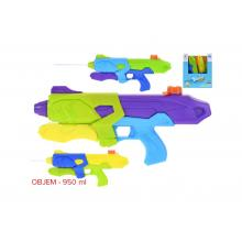 Vodní pistole 42cm s pumpou 3barvy 12ks
