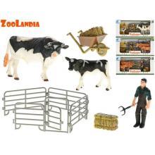 Mikro trading Kráva s telátkem a doplňky