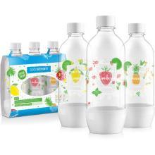 Sodastream Lahev JET 3 x 1l WHITE (LE OVOCE)