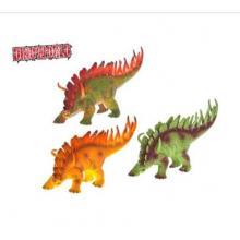 Dinosaurus Stegosaurus 35cm na baterie se zvukem v sáčku