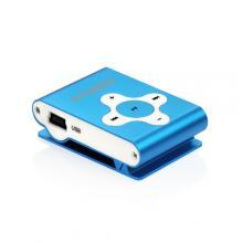 Hyundai MP 212, micro SD slot, modrá MP3 přehrávač