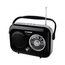 Hyundai PR 100 Retro, černá Radiopřijímač