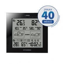 Hyundai WS 2244, černá barva Meteorologická stanice