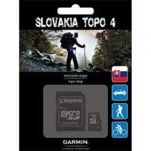 Garmin mapa Slovenska -  Slovakia TOPO v4 microSD/SD