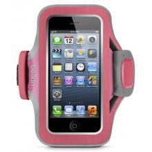 Belkin iPhone 5/5s/5c sportovní pouzdro Slim-Fit Plus, růžové