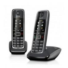 SIEMENS Gigaset C530 DUO - DECT/GAP bezdrátový telefon, černý