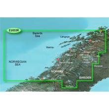 Bluechart G2 Vision VEU053R - Trondheim-Tromso, území velikosti Regular, SD karta