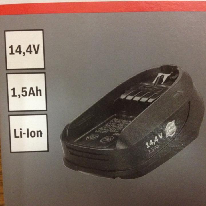 Bosch 2 607 336 206 Baterie 14,4V 1,5Ah Li-Ion