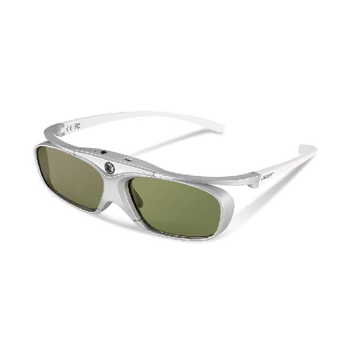 Acer 3D glasses E4w White/Silver, 144Hz, 30h, 32g