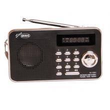 Bravo B-6018 rádio s USB a SD černé