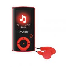 Hyundai MPC 883 FM, 8GB, černo - červený Přehrávač MP3/MP4