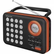 Sencor SRD 220 BOR RÁDIO S USB/MP3 oranžové