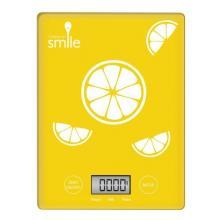 MPM SWK-1/14 kuchyňská váha Smile - žlutá