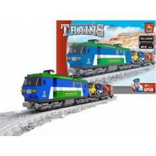 AUSINI vlak nákladní 573 dílů Stavebnice