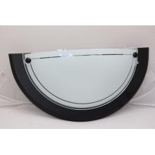Rendl SP5502A/1 Stropnice/půlka standard na zeď černá 31cm