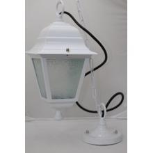 Rendl LZ32600 Dallas na řetězu dekorativní exteriérové závěsné svítidlo barva bílá