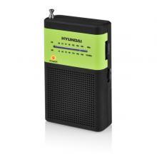 Hyundai PPR 310 BG,  černý/zelený Radiopřijímač