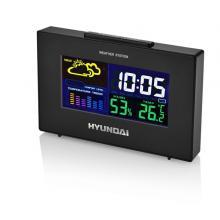 Hyundai WS 2020, barevný displej, černá barva Meteorologická stanice