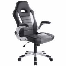 Židle kancelářská RACING PRO ZK 009 černošedá