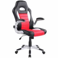 Židle kancelářská RACING PRO ZK 009 černo-červená
