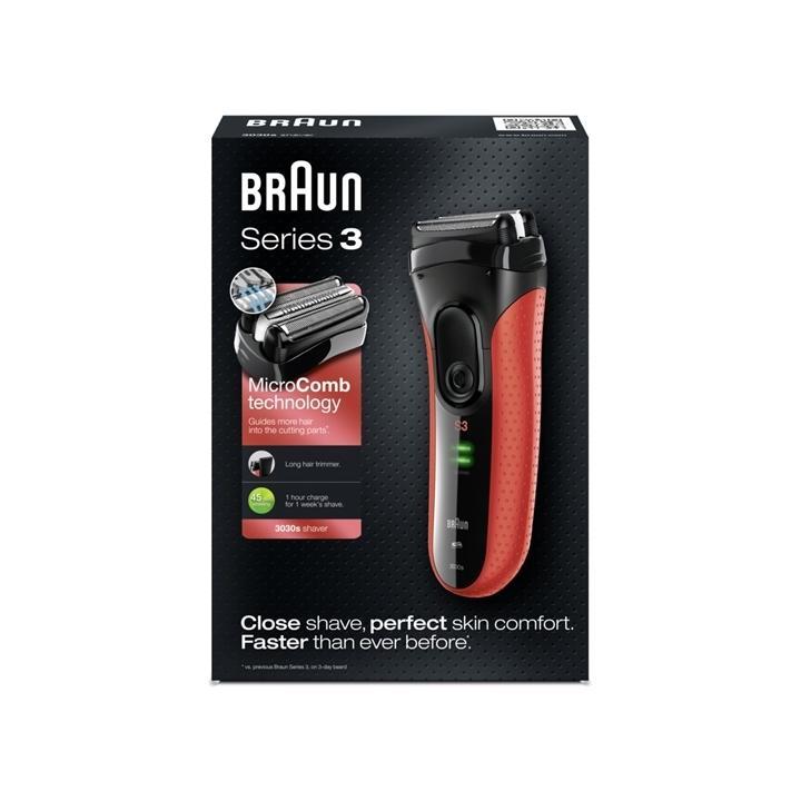 Braun Series 3 - 3030 s Holicí strojek