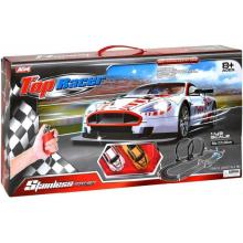 Teddies Top Racer plast 58x137x36cm Autodráha