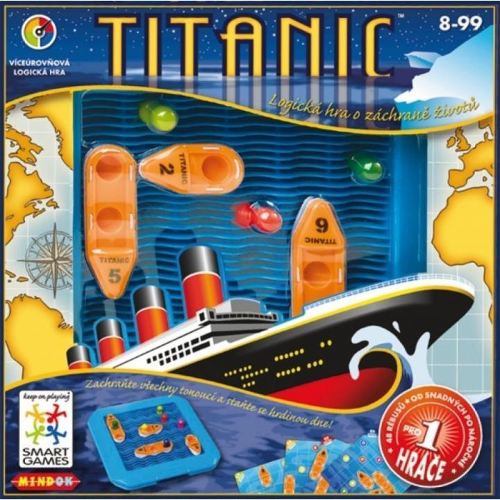 Hra - SMART Games Mindok - Titanic - dětská