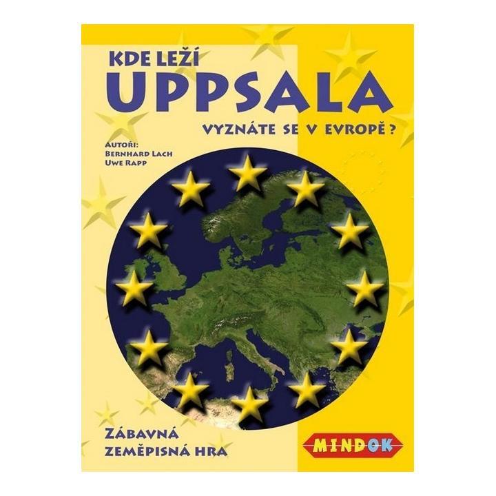 Hra - Mindok Kde leží Uppsala?
