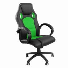 Židle kancelářská racing PRO ZK-010 – černá/ zelená