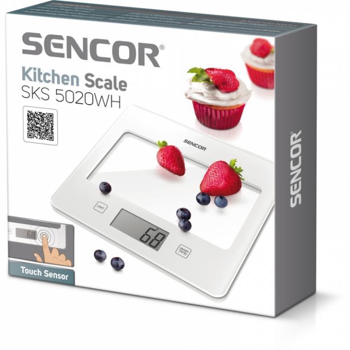 Sencor SKS 5020 WH kuchyňská váha