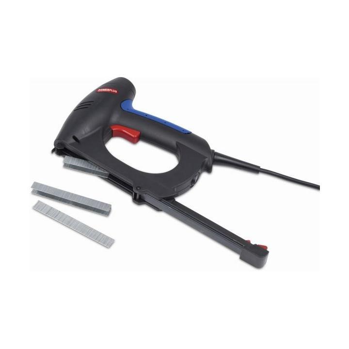 PowerPlus POW737 Elektrická sponkovačka/hřebíkovačka